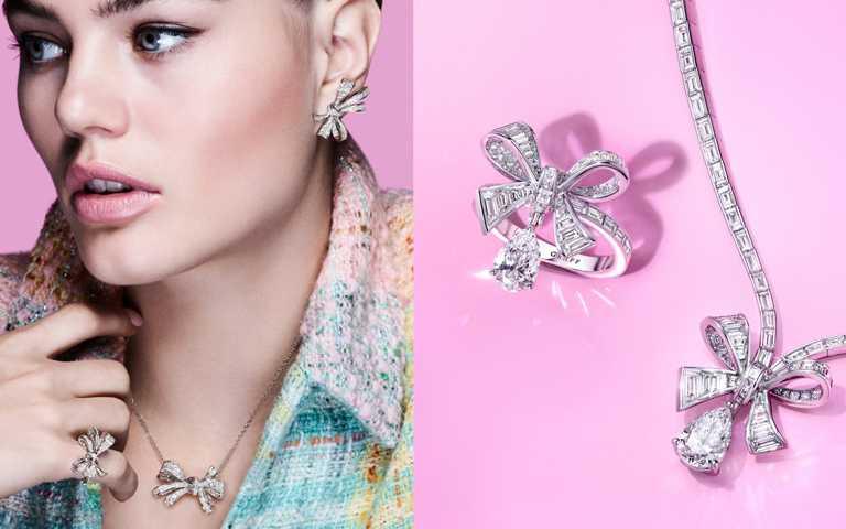大膽追夢玩美傾心!GRAFF「Tilda's Bow」蝴蝶結鑽飾 以璀璨鑽石光打造成串串流麗緞帶