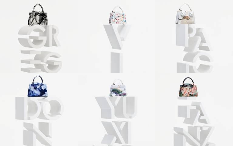 行走的藝術品!LV再度攜手6位當代藝術家,把包包當作畫布創作出限量Artycapucines包款