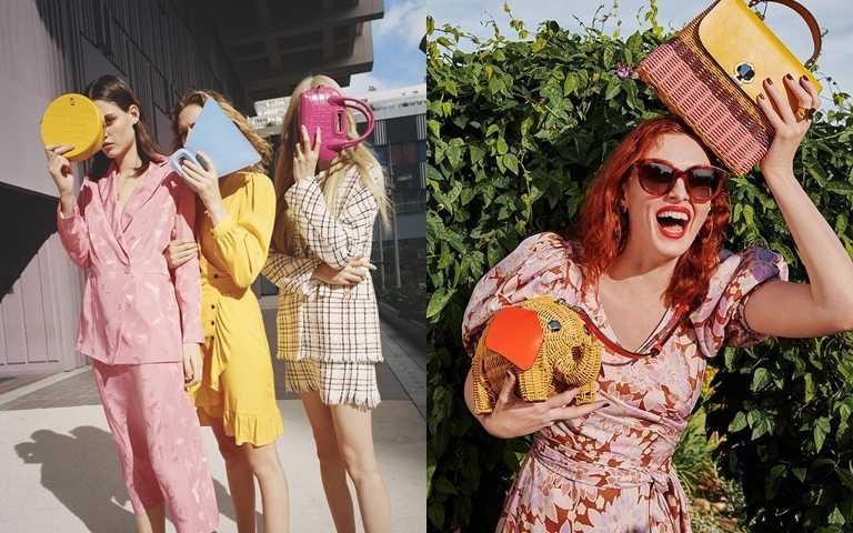 造型可愛顏色夢幻 一顆春夏特色小包拿在手上時尚超加分!