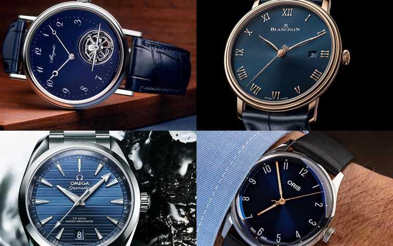 沈醉藍色時分!嚴選5款藍色面盤限量腕錶 化身魅力爆棚優雅貴公子!