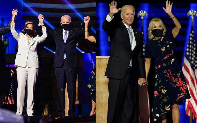 拜登身邊重要的女人!美國首位女副總統賀錦麗、第一夫人勝選時尚穿搭