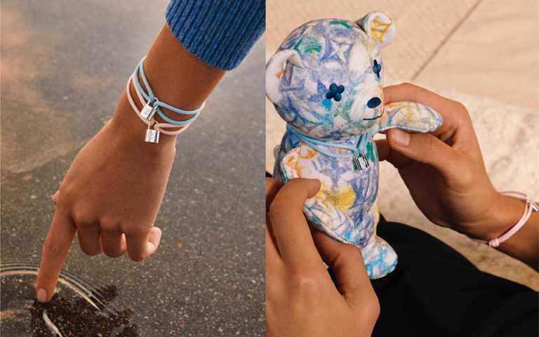 粉彩童心世界大同!路易威登暖推彩色手鍊與泰迪熊有機布偶,攜手UNICEF公益助貧童
