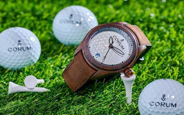 泡泡高爾夫青銅腕錶的另類休閒運動風
