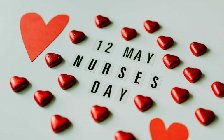 今天5/12「國際護士節」 為辛苦的護理人員致上最深的敬意!