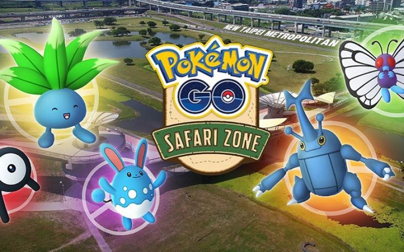 在三重抓寶可夢 新北市主辦的「Pokémon GO Safari Zone」將在10/3-10/6登場