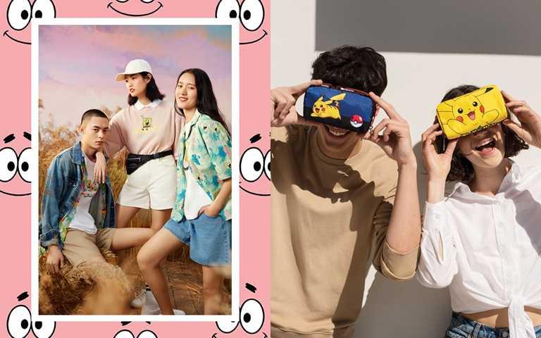 海綿寶寶、皮卡丘搶盡時尚風頭!合作服裝&配件品牌聯名到處裝可愛!
