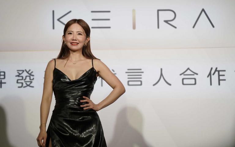 謝忻成飾品品牌KEIRA國際代言人「走過低谷重新出發」