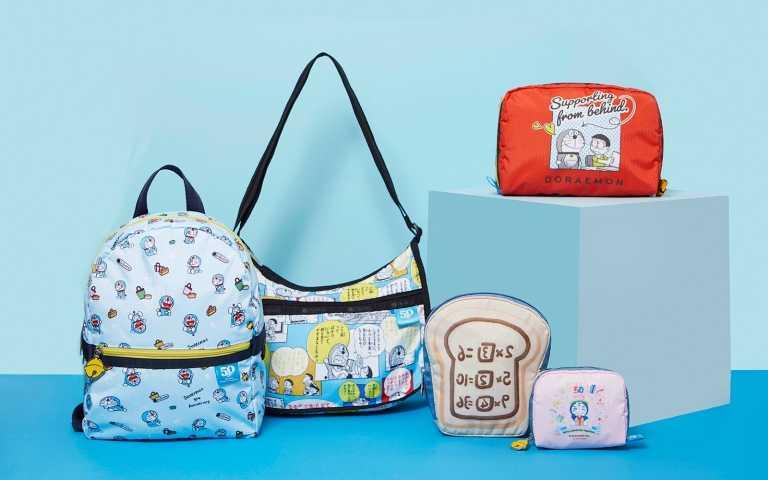 記憶吐司來了!哆啦A夢50週年攜手LeSportsac推出聯名包款系列