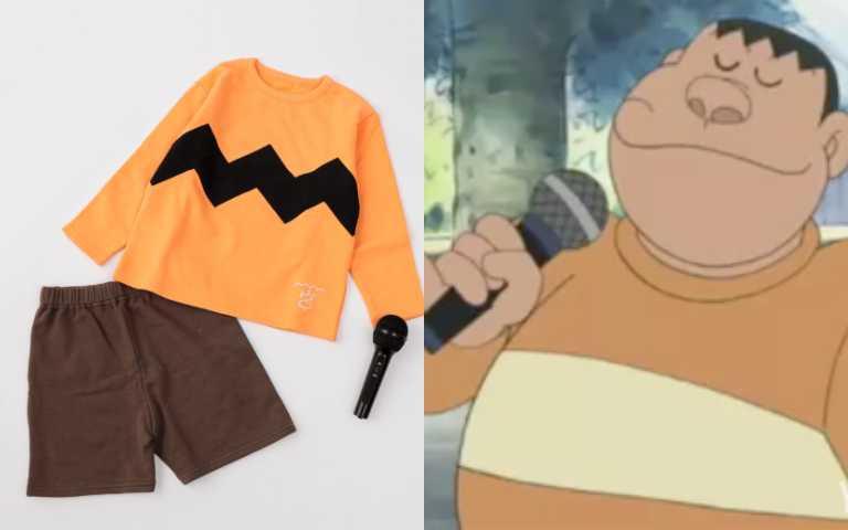 「我是胖虎,我是孩子王~」日品牌推「胖虎童裝」,還附贈「麥克風」神還原!