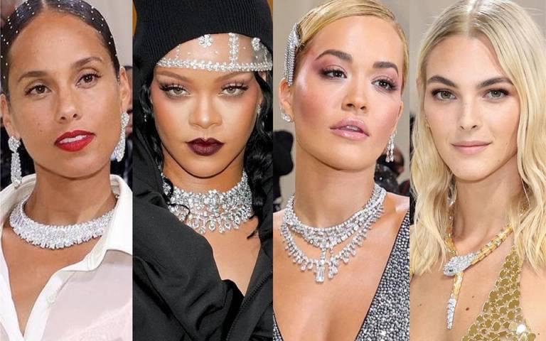 盤點MET Gala紅毯珠寶!寶格麗、DE BEERS、卡地亞、海瑞溫斯頓、梵克雅寶、蕭邦,奢華頂級白鑽璀璨制霸