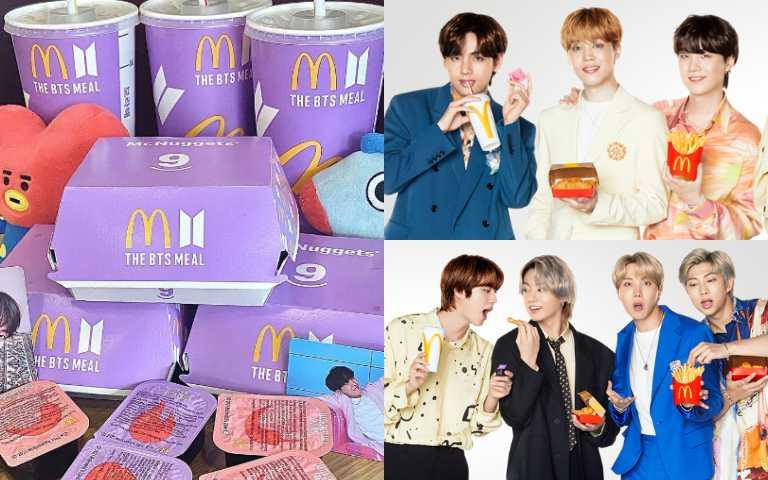 麥當勞x防彈少年團「BTS夢幻紫色套餐」開賣,還有一系列周邊準備掏空阿米們的荷包!