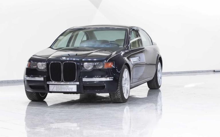 原來BMW早在20年前就已經預告現行「大鼻孔」的蹤跡!BMW-ZBF-7er當年比7系列還大的陸上運輸機!