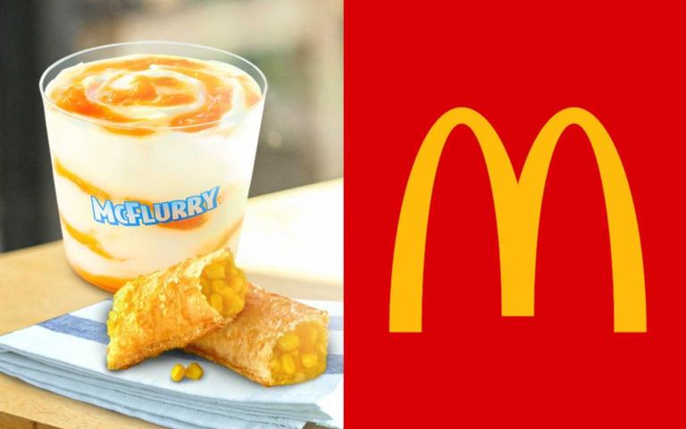 又臭又爽!麥當勞「榴槤蜜冰炫風」重磅上市,再搭配「爆漿玉米派」邪惡指數破表!