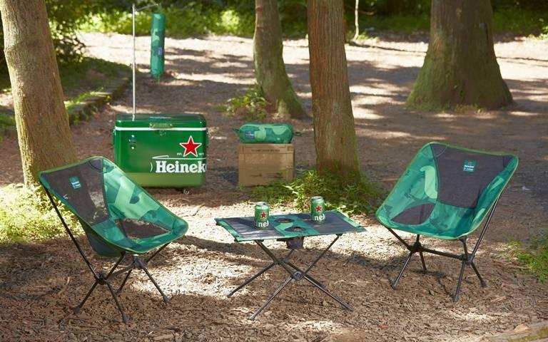 這回不賣酒了!海尼根聯手韓國精品打造「迷彩露營風」 全台限量三大周邊必入手