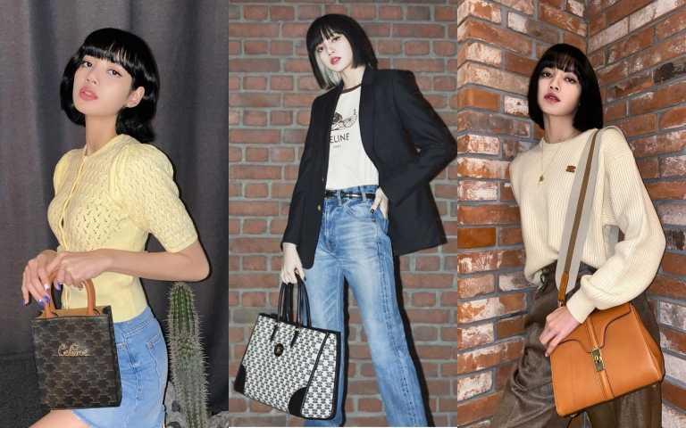 BLACKPINK Lisa真的是最強帶貨女王 穿什麼賣什麼 根本秋冬必學流行教科書!快跟她學穿搭 尤其她揹的包也太美了!