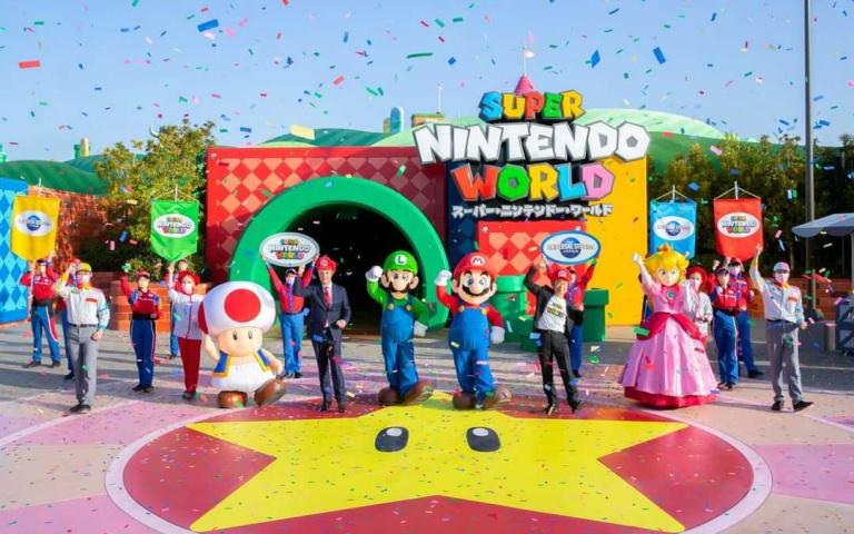 日本環球影城「超級任天堂世界」3/18正式開幕!「奇諾比奧咖啡廳」瑪利歐紅、路易吉綠餐點超Q萌!
