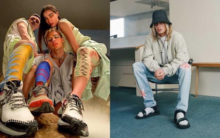 Vivienne Westwood 攜手亞瑟士、全美最佳新銳男裝設計師跨界設計涼感鞋履...跨界聯名鞋款瞄準鞋頭們的荷包