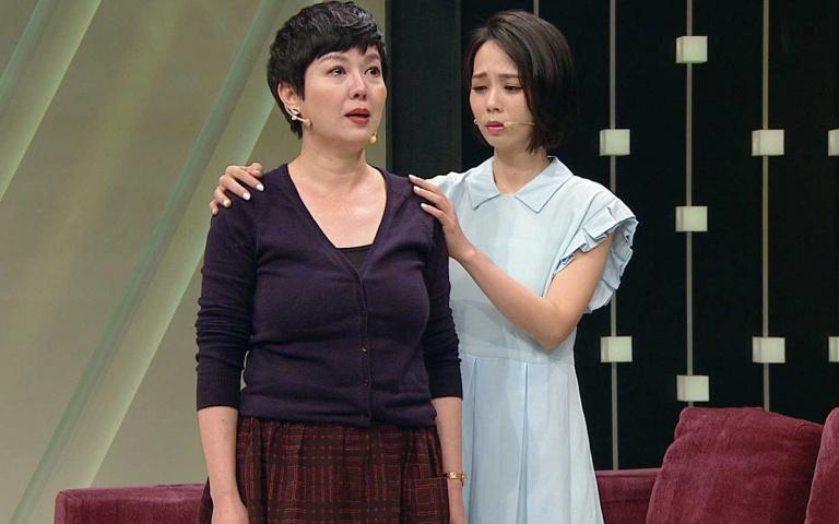 單親媽難為 苗可麗含淚感謝女兒諒解家庭工作難兩全