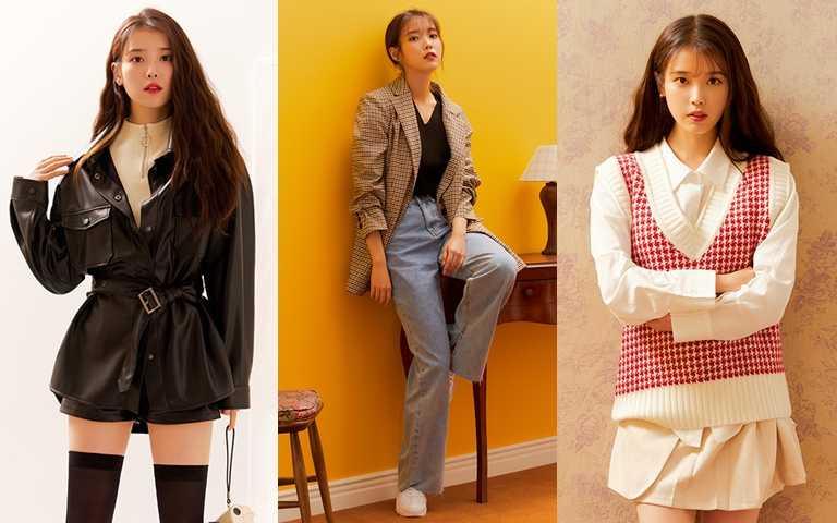 斜槓偶像IU除了SOLO歌手 又成功解鎖時裝品牌設計總監新身份!