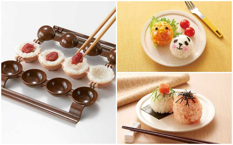 野餐必備!小飯糰製作神器,輕鬆做出日式超萌餐點!