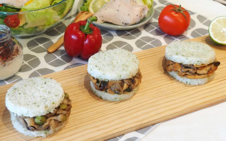 【疫情商機-2】冷凍食品玩新意 青花椰米變身米漢堡 全素新豬肉餡餅進軍超商