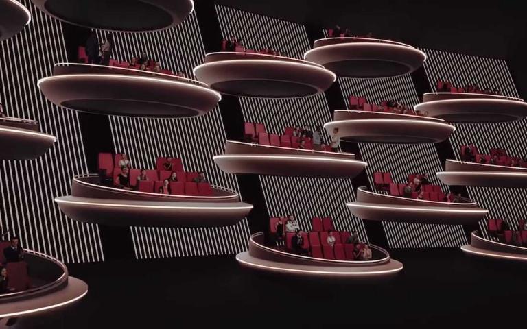 最能保持社交距離的電影院!「漂浮式獨立包廂」即將登場,「銀河參議院」是你嗎?