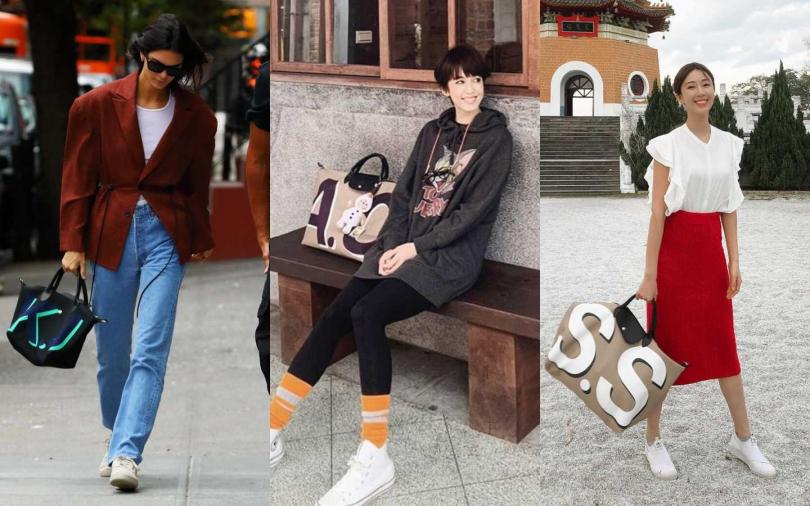 超模Kendall Jenner、陳庭妮、隋棠都迷上這款訂製折疊包