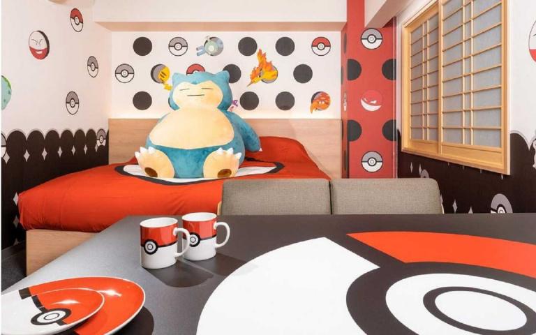 MIMARU飯店「寶可夢主題客房」,入住就送限定周邊商品!