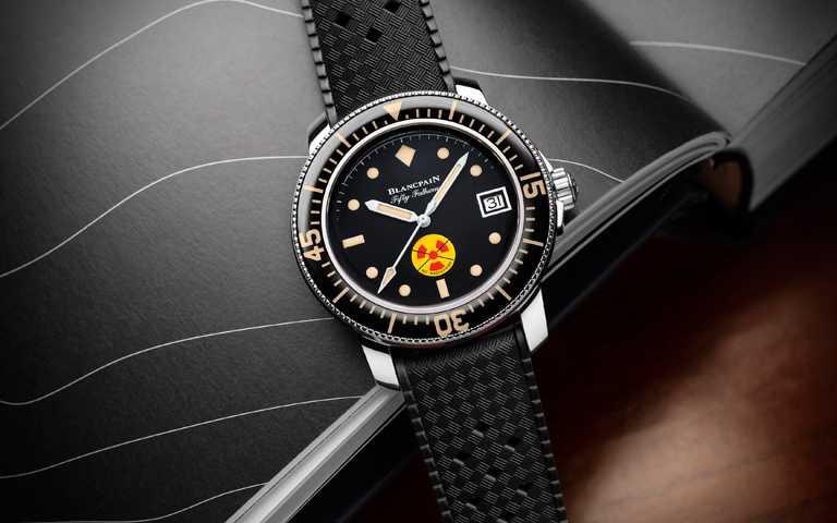 無鐳印記潛心貫注!BLANCPAIN重新演繹五十噚經典型號 限量致敬「無輻射」潛水腕錶