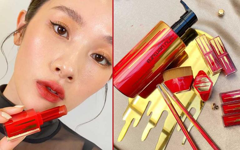 植村秀超美2021流金限量系列✨ #786、#555 時髦的招財唇,還有限量福袋回饋好運!!