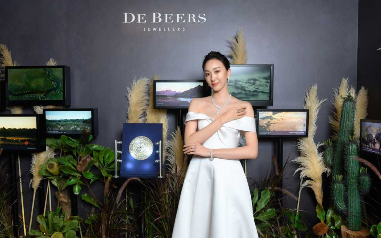〔Jewelry〕DE BEERS《Nature's Origins》頂級珠寶展