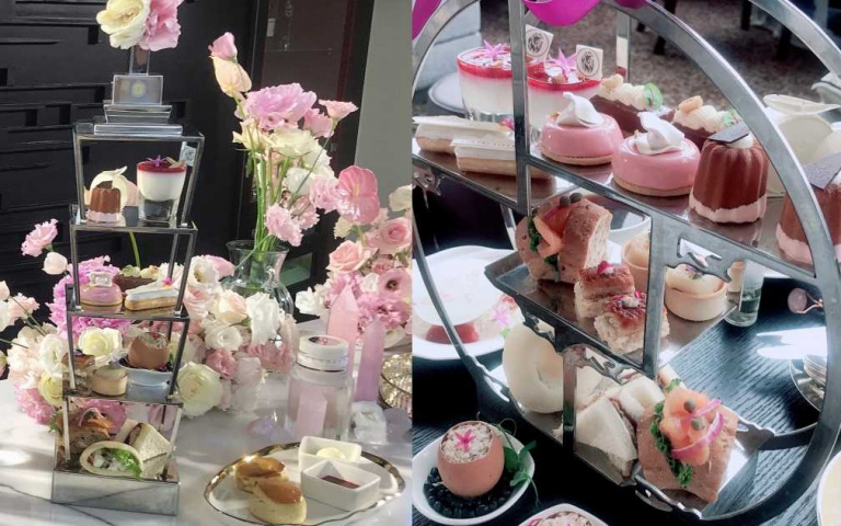 香緹卡與台北遠東飯店馬可波羅酒廊推出聯名下午茶,快來當貴婦