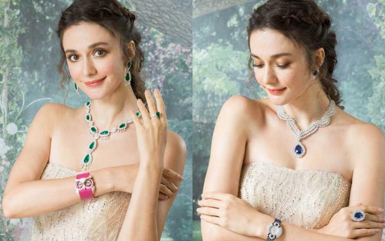 〔Jewelry〕Chopard蕭邦2020頂級珠寶展X名模瑞莎